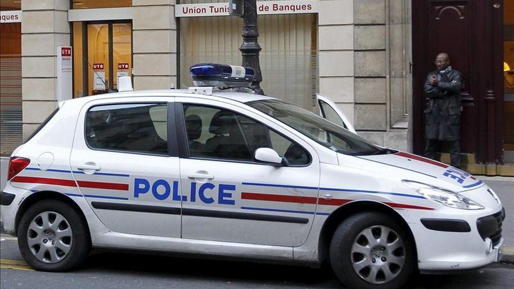 Una patrulla de la policía francesa. EFE/Archivo