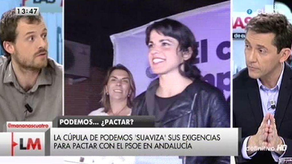 Pablo Padilla niega que haya fractura con Podemos Andalucía