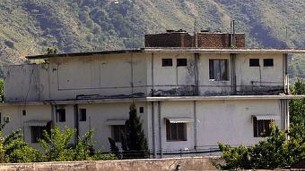 La casa en Abbottabad, barrio paquistaní donde Osama  Bin Laden se escondió durante seis años. foto EFE