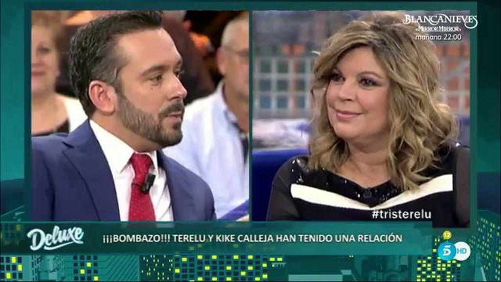 Terelu Campos confirma en el Deluxe que ha tenido una relación con Kike Calleja