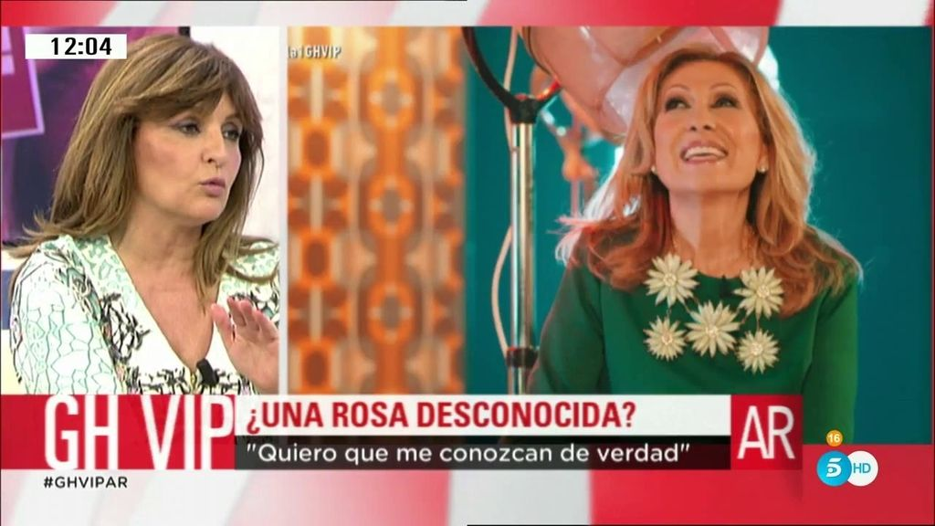 """Beatriz Cortázar: """"Anoche vi a Rocío Jurado, no a Rosa Benito"""""""