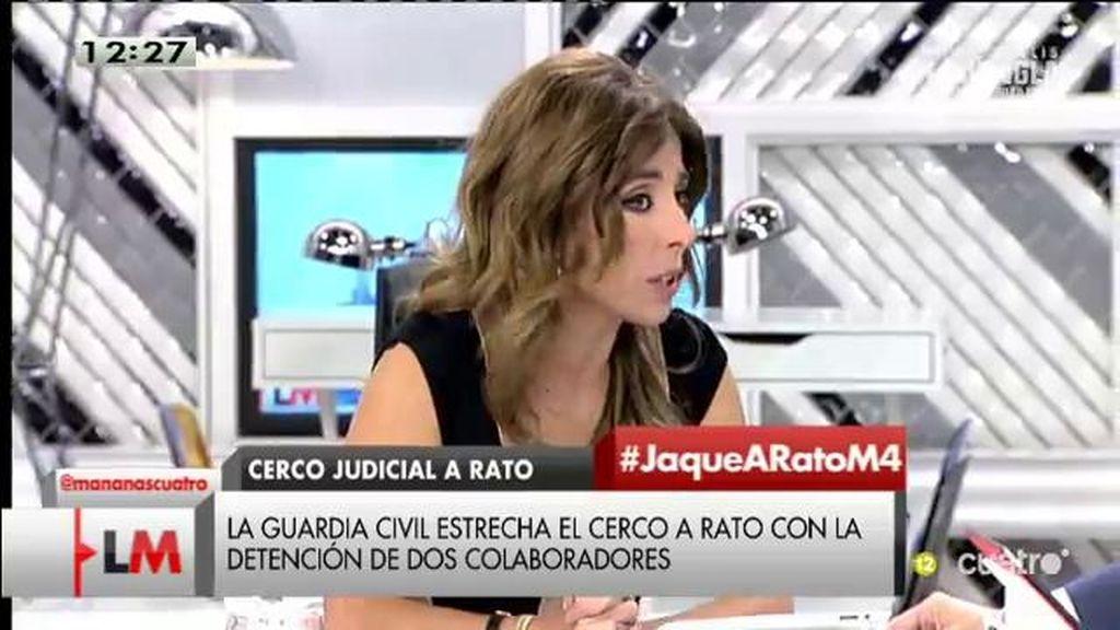 Rato declaró ante la guardia civil este jueves 1 de octubre, según Ana Terradillos