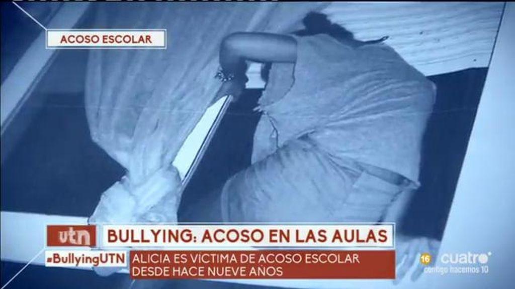Alicia ha intentado suicidarse tres veces por culpa del acoso escolar