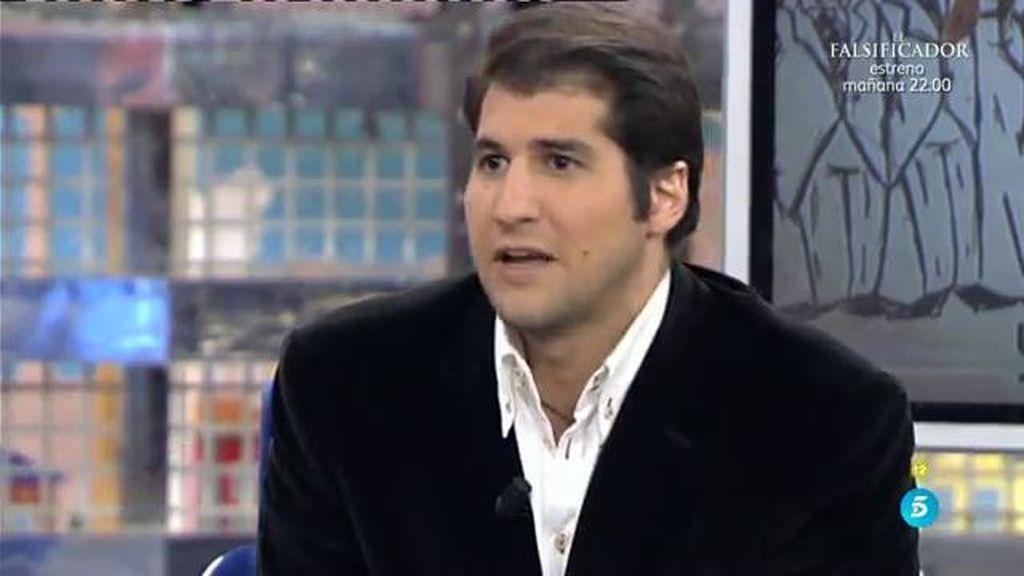 """Julían Contreras: """"Adelantamos el AVE porque no entendíamos qué hacíamos en la boda"""""""