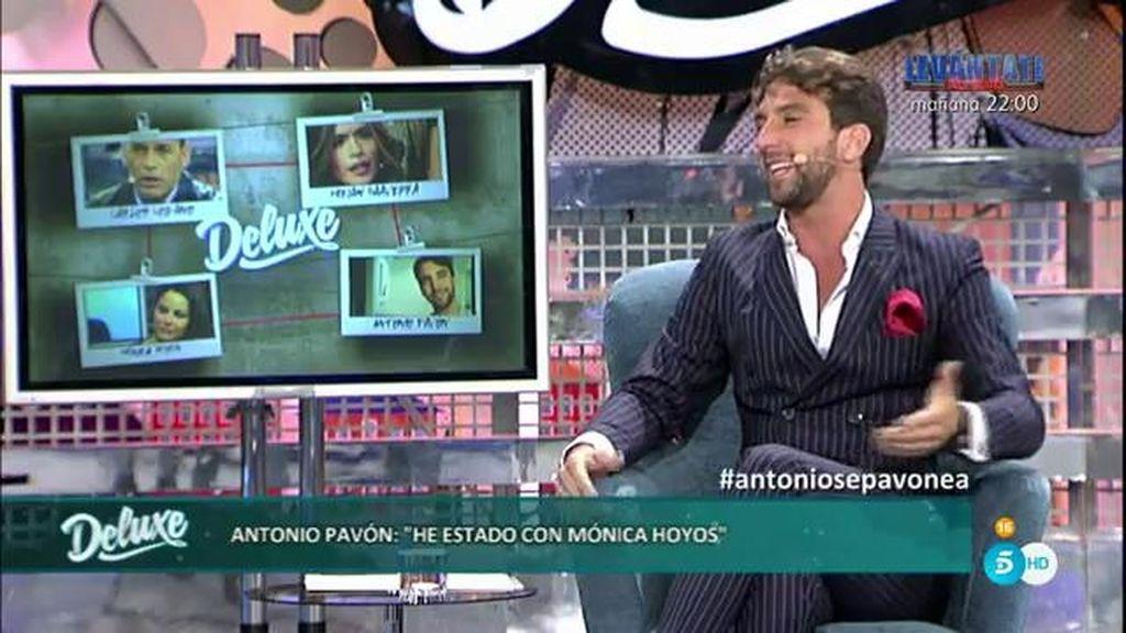 "Antonio Pavón, sobre Mónica: ""Tomábamos copas y acabábamos en mi casa"""