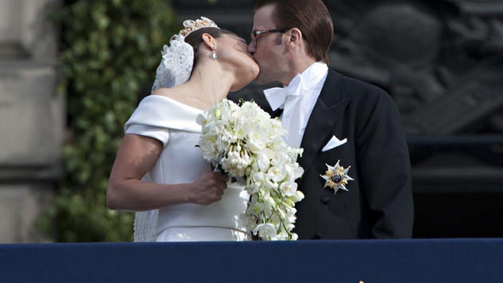 La princesa Victoria de Suecia y Daniel Westling