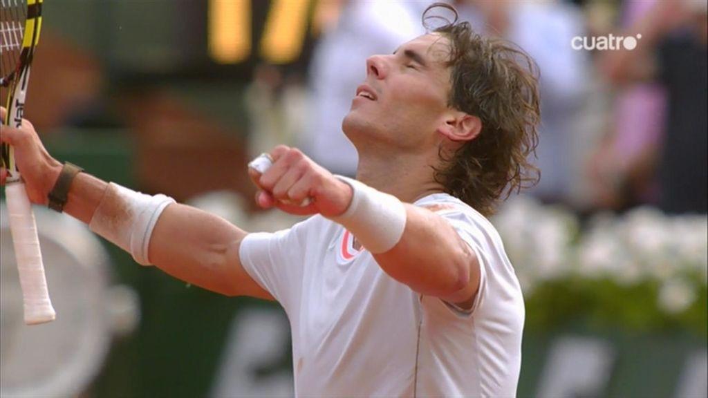 Rafa Nadal venció a Wawrinka por 6-2, 6-3 y 6-1