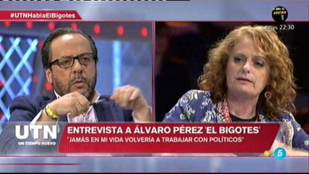 """Álvaro Pérez: """"Jamás en mi vida volvería a trabajar con políticos"""""""