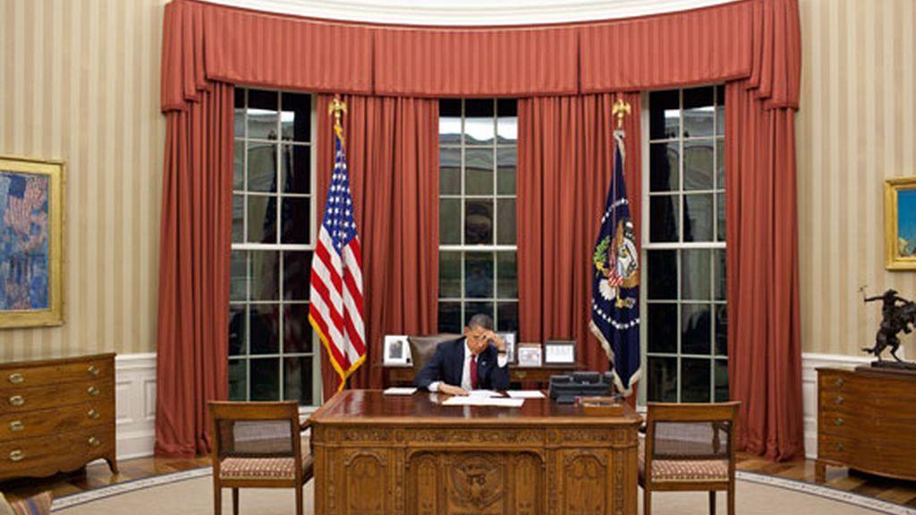 Obama prepara su discurso