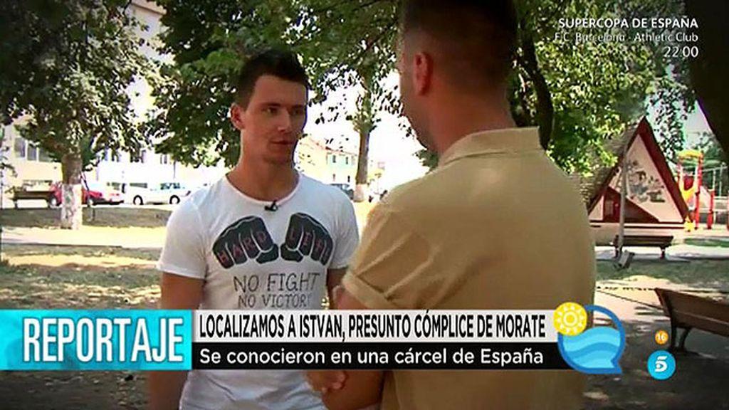 'El programa del verano' localiza a Itsvan, presunto cómplice de Morate