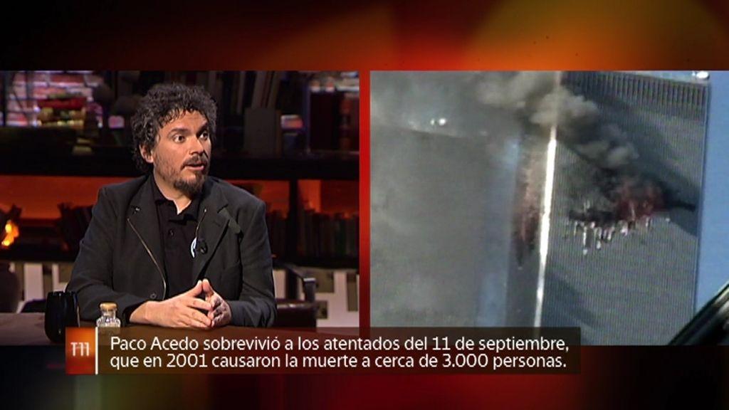 El explorador Paco Acedo cuenta cómo sobrevivió a los atentados del 11-S