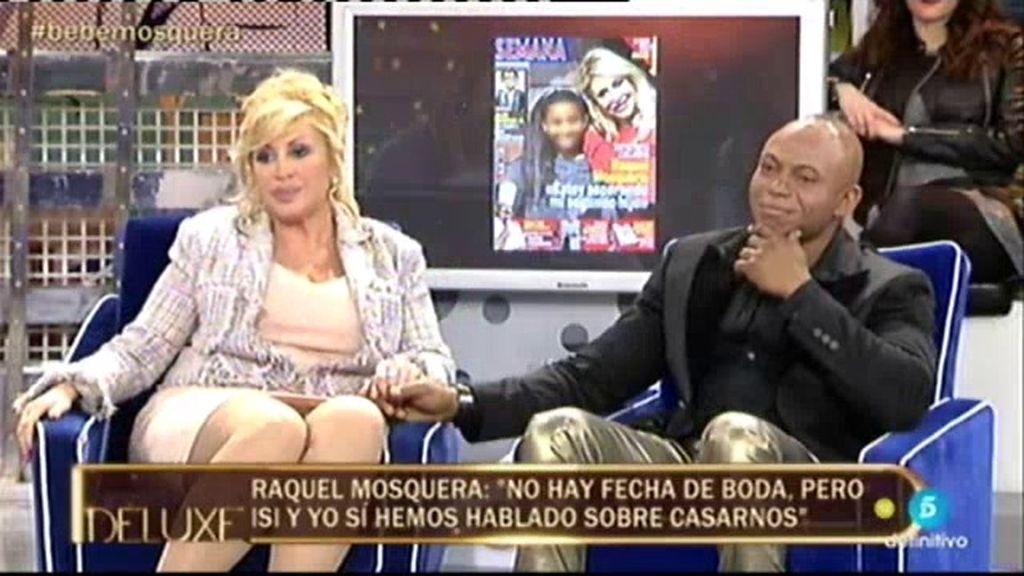 """Raquel Mosquera: """"Isi y yo hemos hablado de casarnos por la Iglesia"""""""