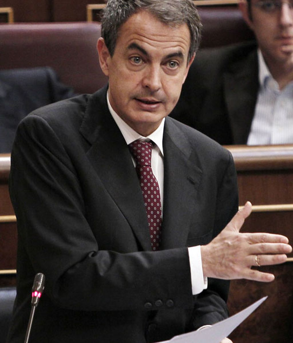 Imagen de archivo de Zapatero en el Congreso