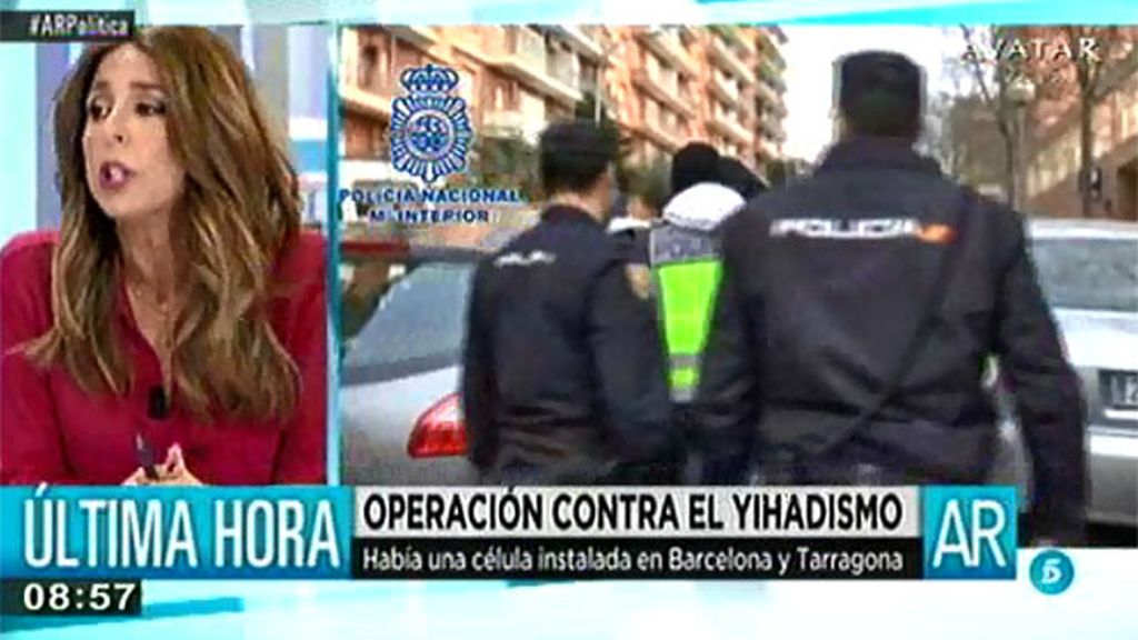 Nueve detenidos en una operación contra el yihadismo en Cataluña