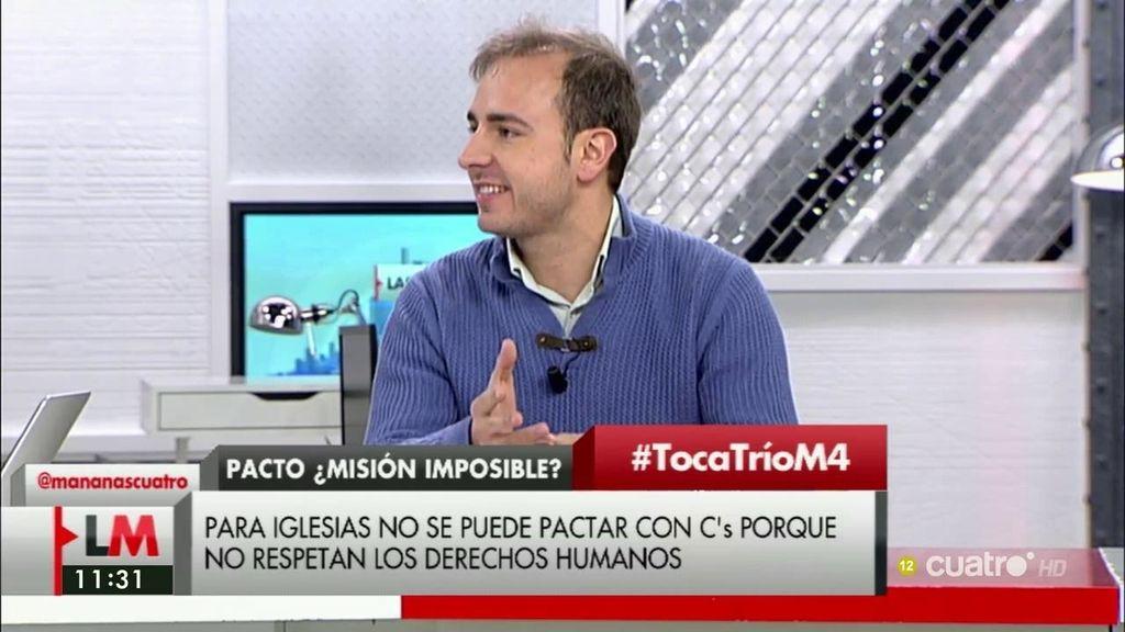 """Javier Dorado: """"El PSOE no tiene plan 'B' ni 'C', va por el 'F', se ha reunido en secreto con Esquerra Republicana de Cataluña"""""""