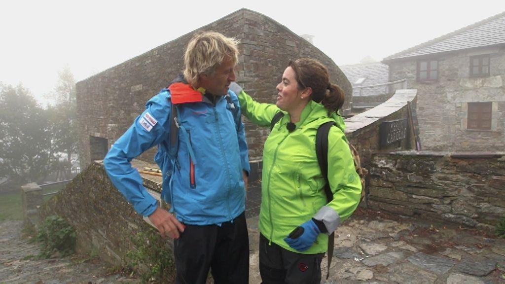 Soraya Sáenz de Santamaría completó feliz su etapa del Camino con Planeta Calleja