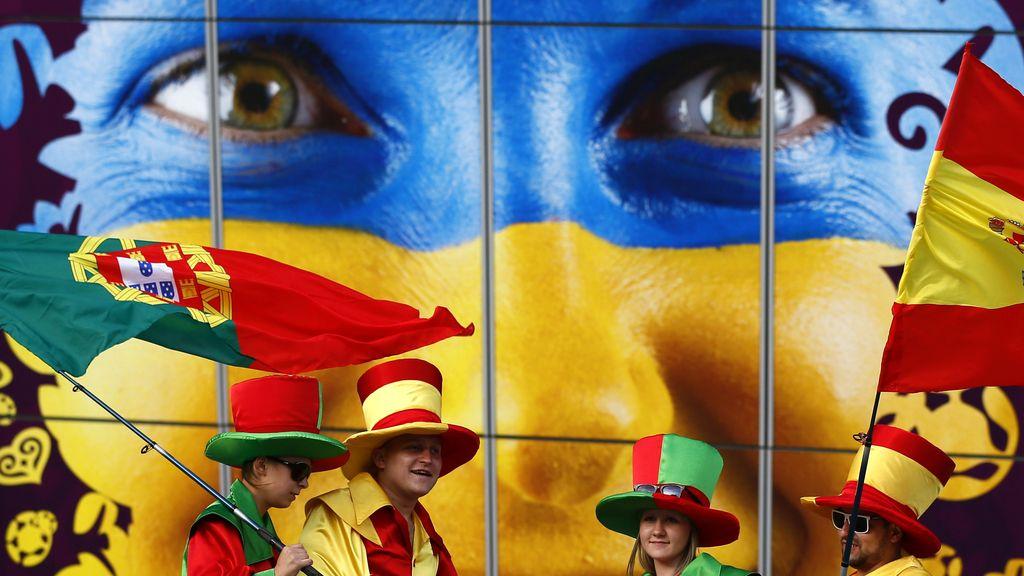 El rojo destaca en la semifinal ibérica
