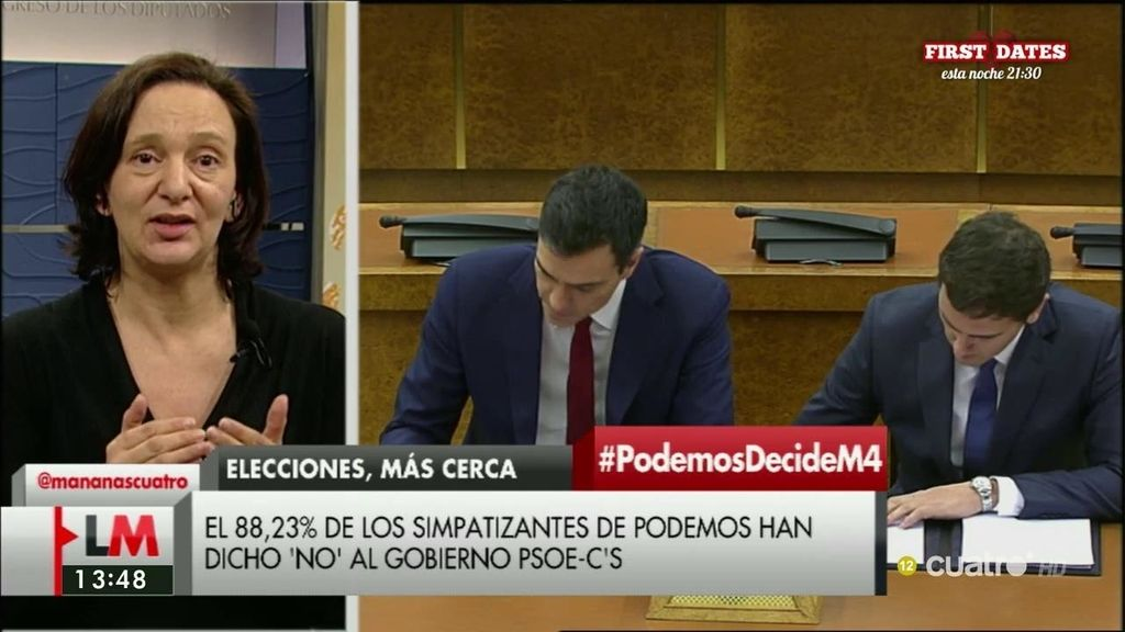 La entrevista de Carolina Bescansa en 'Las Mañanas de Cuatro', a la carta