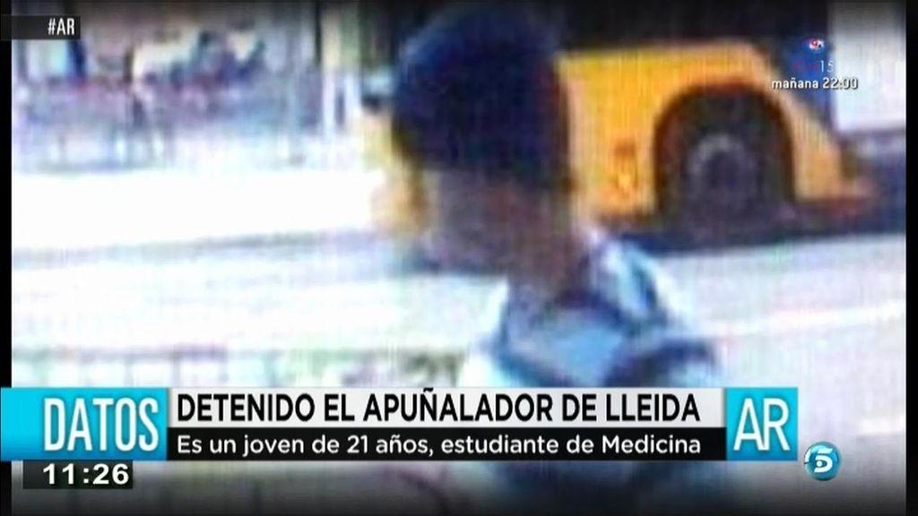 El apuñalador de Lleida es un estudiante de Medicina de 21 años