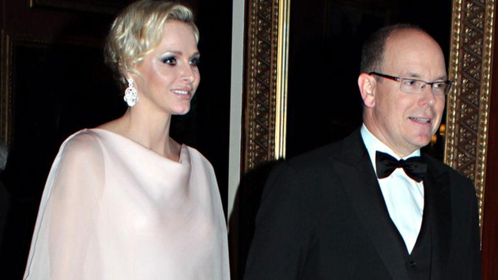 Charlene y Alberto de Mónaco