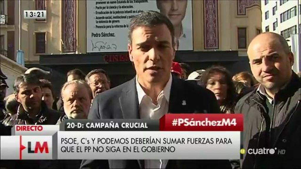 La entrevista completa de Pedro Sánchez