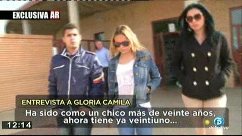 """La entrevista más sincera de Gloria Camila: """"Mi hermano no lo ha tenido  fácil"""""""
