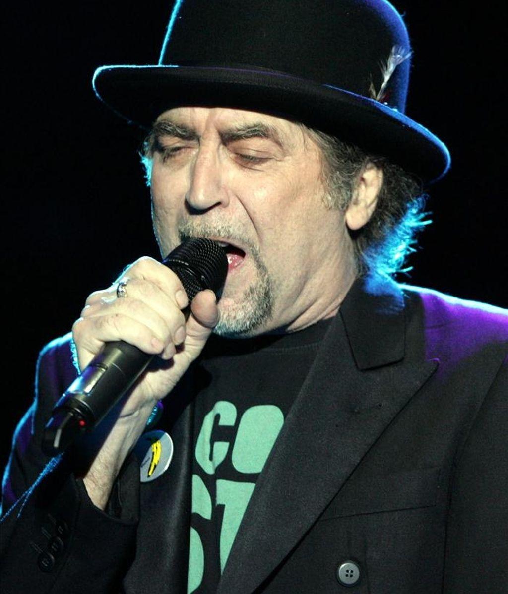 El cantante Joaquín Sabina. EFE/Archivo