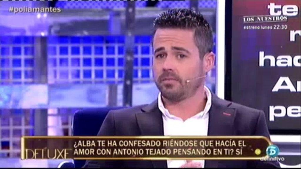 """Ismael: """"Alba me confesó riéndose que pensaba en mí mientras estaba con Tejado"""""""