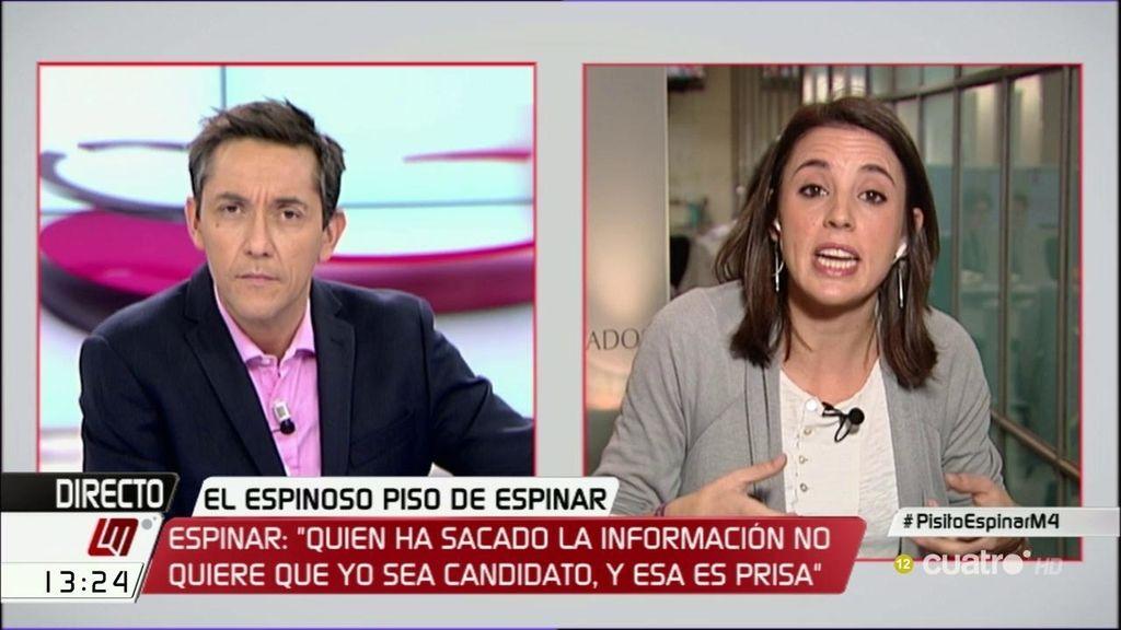 """Montero: """"No tenemos problemas con los periodistas, sino con las elites económicas"""""""