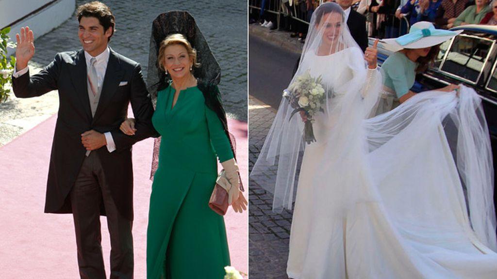 Boda de Cayetano Rivera y Eva González: la llegada de los novios a la Iglesia