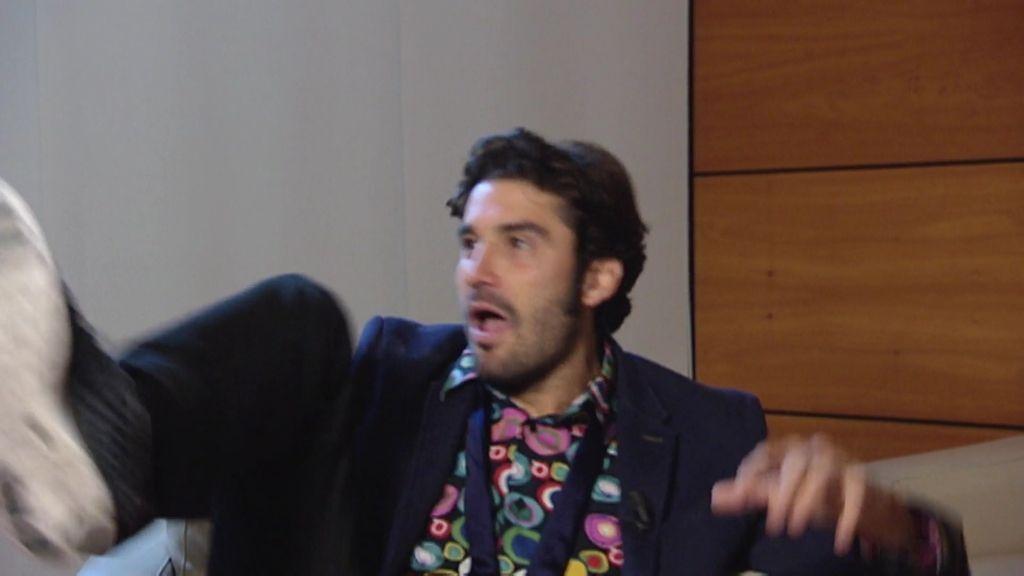 El susto que le dio Álex García a Paco León que le provocó un chute de adrenalina