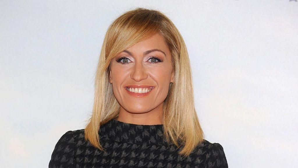 La presentadora Luján Argüelles no quiso perderse la première
