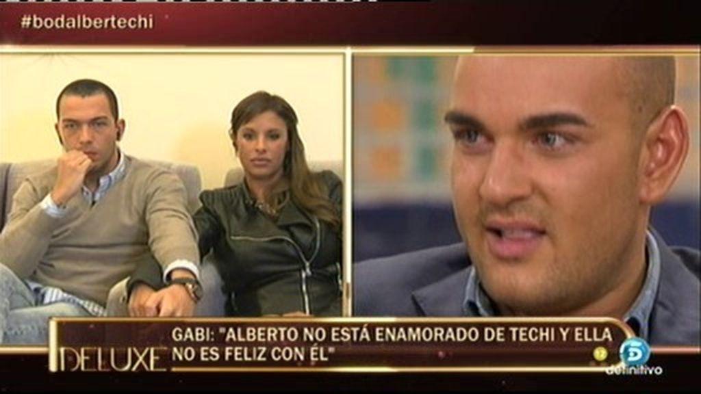 """Gabi: """"Solo en una ocasión he visto una actitud agresiva en Alberto Isla"""""""