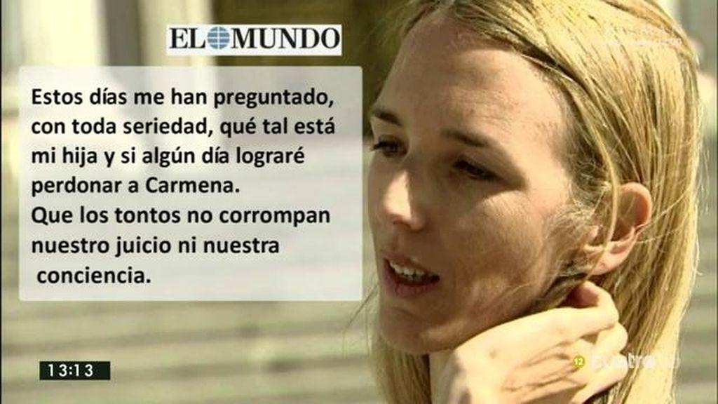 La respuesta de Cayetana Álvarez de Toledo a las críticas que recibió en Twitter por sus palabras a Manuela Carmena
