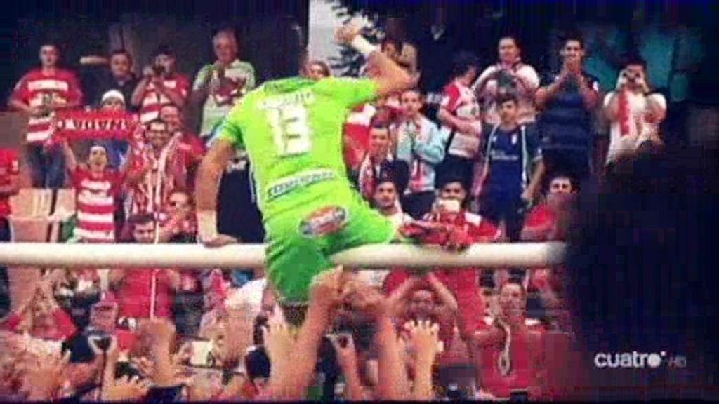 Sandoval cumple y el Granada es de Primera