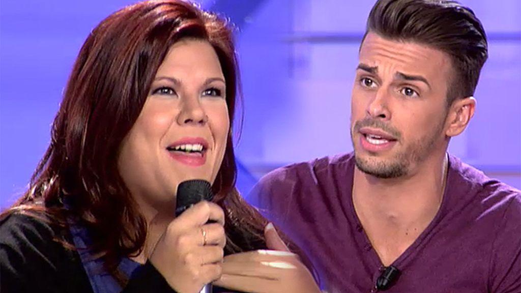 "Cristian, a Tamara: ""Si quieres te imito a Eduardo Gómez que se me da muy bien"""