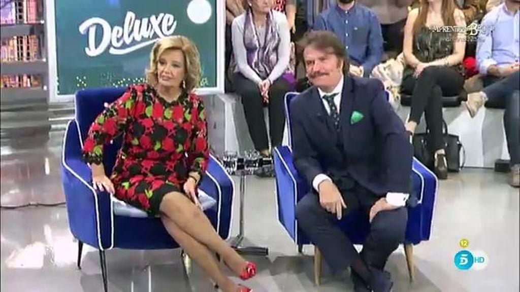 """Bigote, sobre Mª Teresa Campos: """"Me da mucha paz, es más humorista que yo"""""""