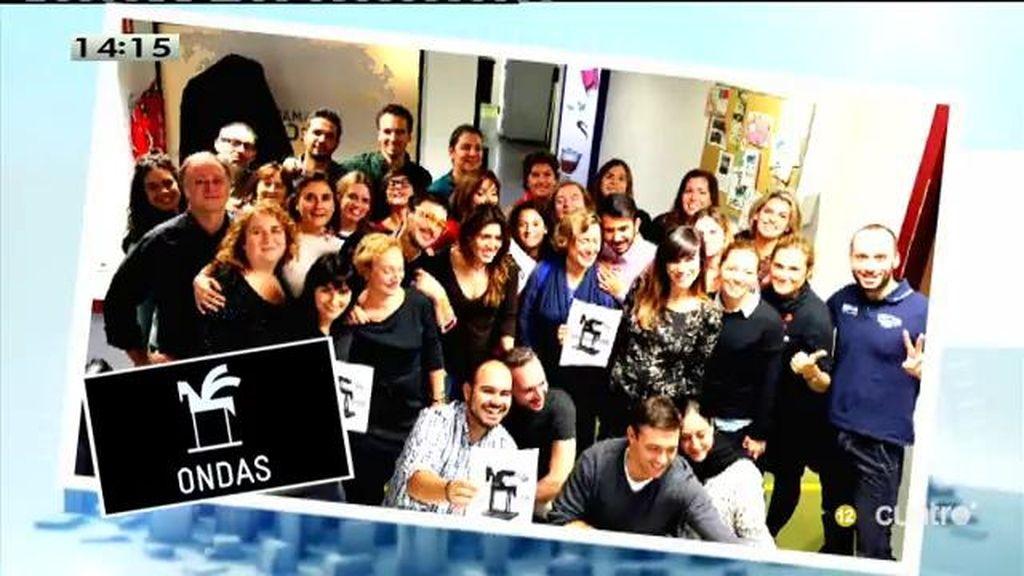 'Las Mañanas de Cuatro', Premio Ondas al mejor programa de actualidad