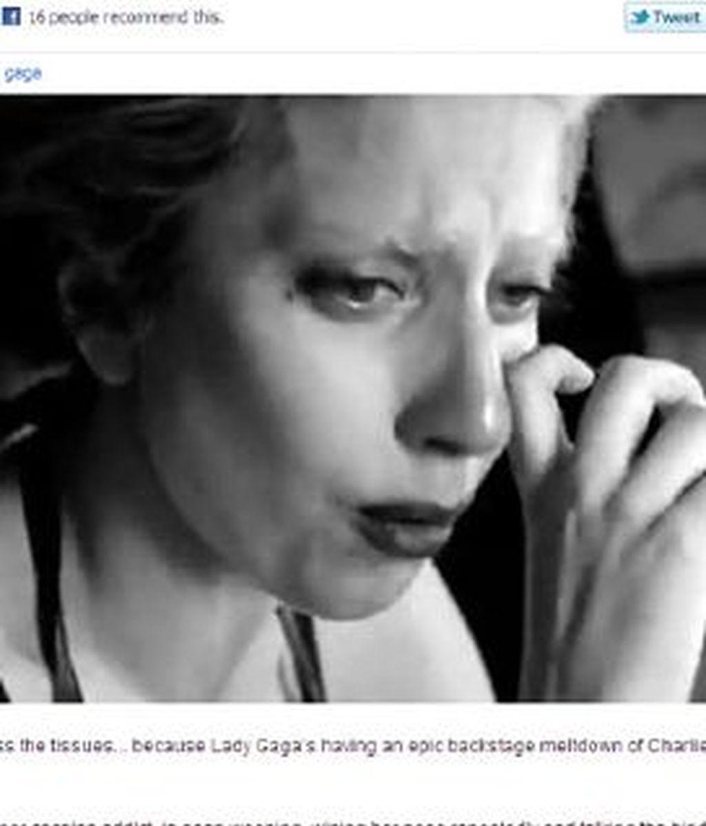 Lady Gaga ha desvelado sus sentimientos entre llantos para un documental. Vídeo: Informativos Telecinco.