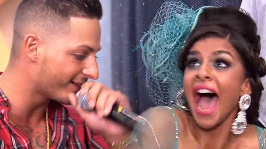 Nyno Vargas, el ídolo de 'La Rebe', la sorprende en su cumpleaños