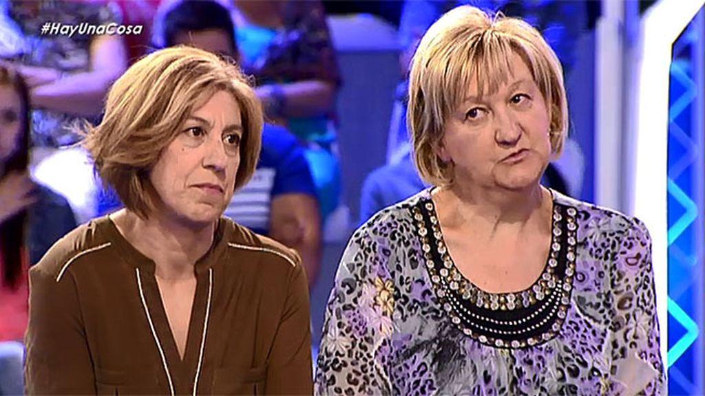 Eugenia y Manoli conocen a su hermana