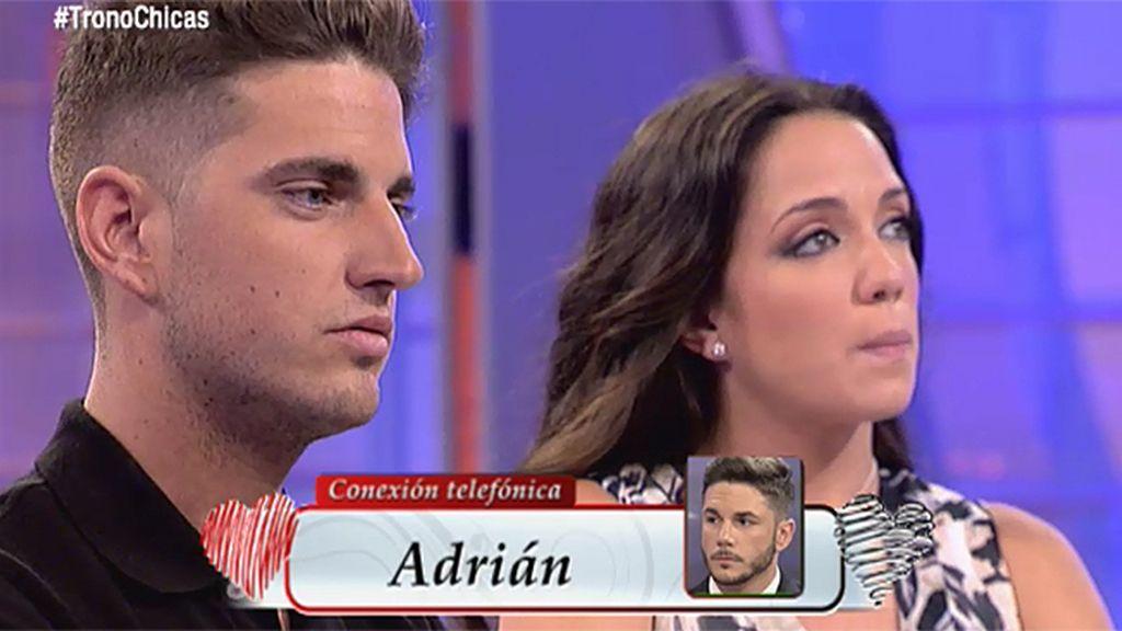 """Adrián, a Jonathan: """"Samira me llamó y me dijo que se arrepentía de su decisión"""""""
