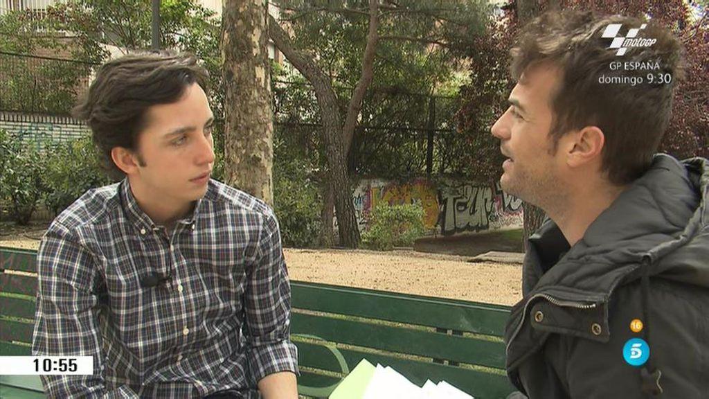 """Fran Nicolás: """"Ribadeo debería pagarme por la repercusión que tuvo la visita"""""""