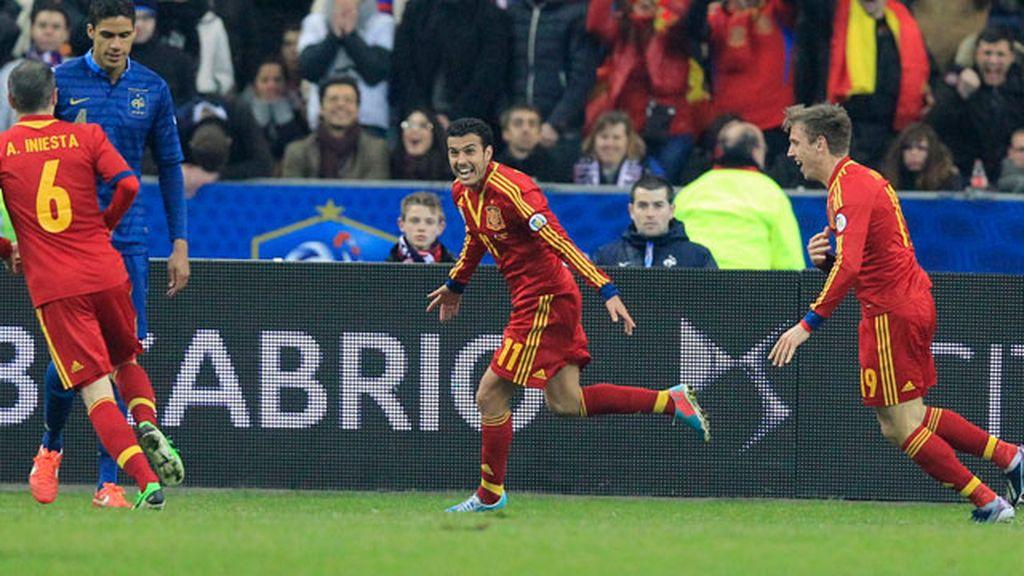 Pedro marca para España