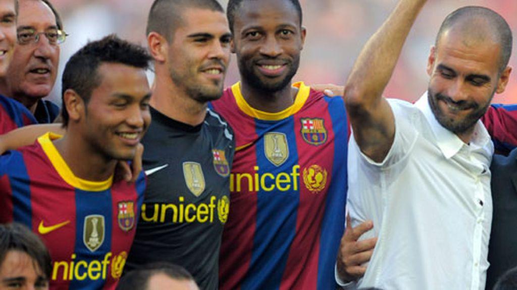 La alegría del Barcelona
