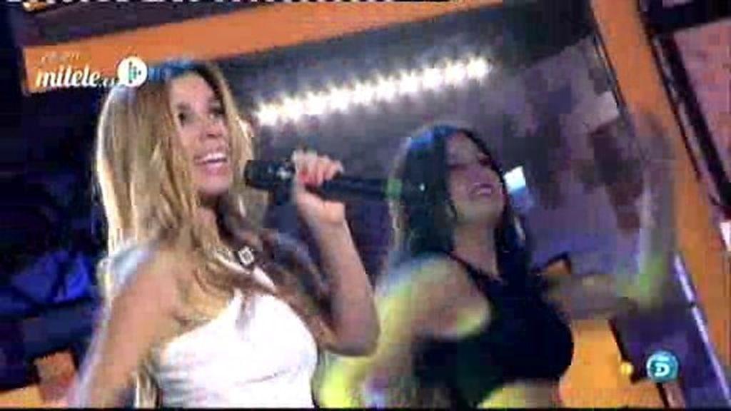 La actuación de Natalia: 'Dame'