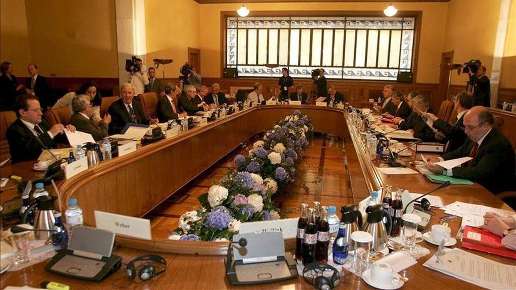 En la imagen, reunión del Consejo de Gobierno del Banco Central Europeo, en Atenas, Grecia. EFE/Archivo