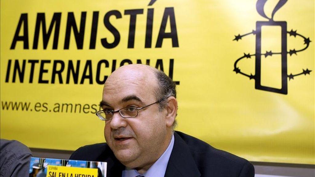 El director de la sección española de Amnistía Internacional, Esteban Beltrán. EFE/Archivo
