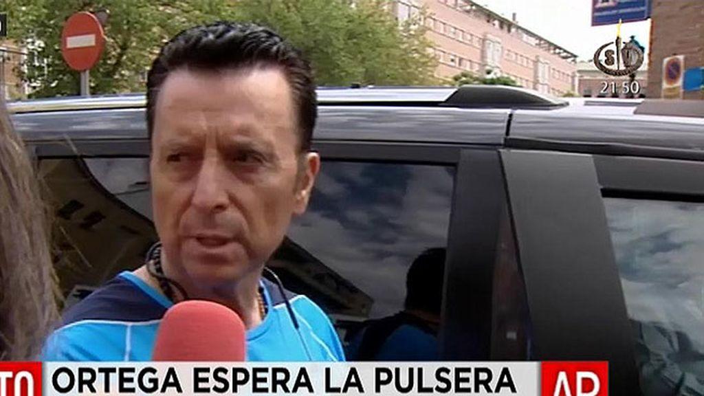 Ortega sale del Victoria Kent sin la pulsera y tendrá que regresar a dormir al centro