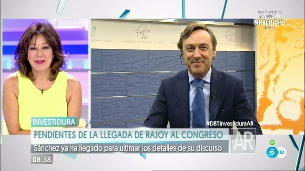 """Hernando: """"Rajoy hizo un discurso serio, para circo y diversión tuvimos la otra legislatura"""""""